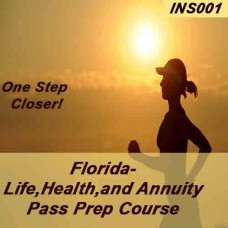 Florida: Life Health & Annuity Insurance Pass Prep and Cram course (INS001FL)