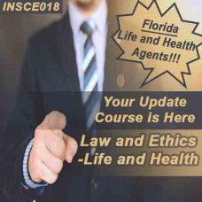 Florida - 5-HR LAW & ETHICS - LIFE AND HEALTH (INSCE018FL5e) 2-14, 2-15, 2-40 licenses